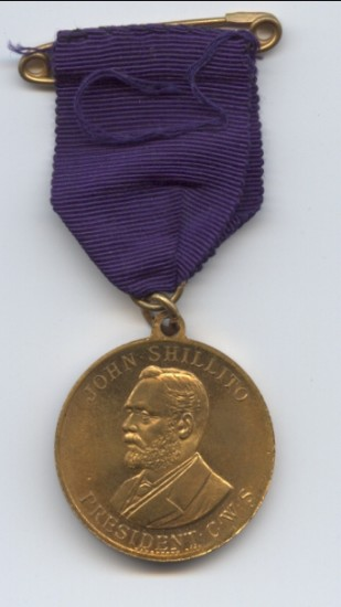 Cooperative Wholesale Society Jubilee Medal 1863 to 1913 (reverse)