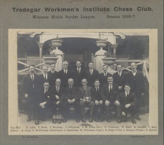 Chess Club Tredegar
