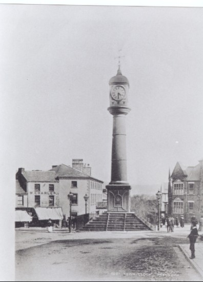 Town Clock The Circle Tredegar