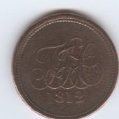 Penny Token Tredegar Iron And Coal Company