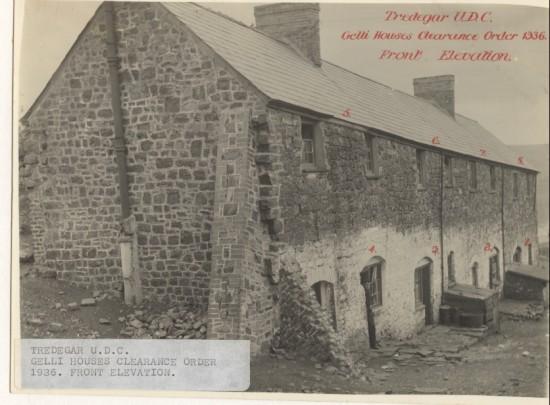 Gelli Houses Tredegar