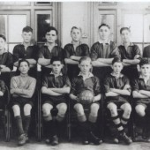 Georgetown School Football Team 48 49