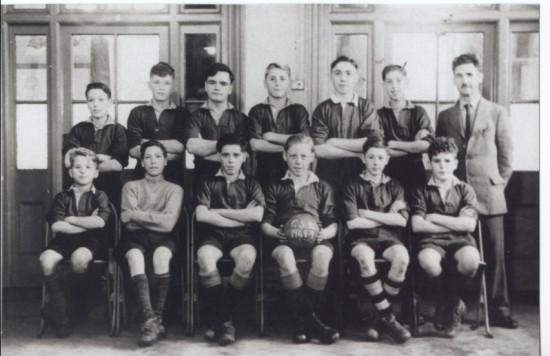 Georgetown School Football Team 48 49