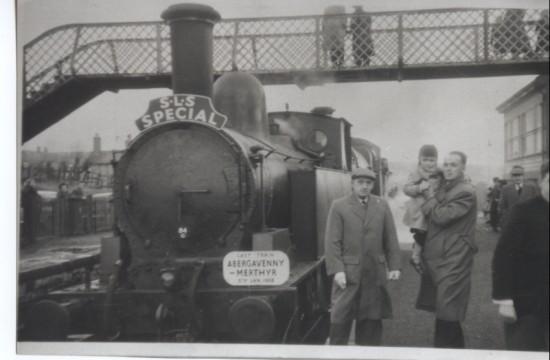 Last Train At Nantybwch