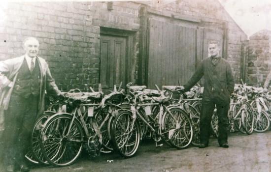 Aneurin Morgan Cycle Shop (Rear)