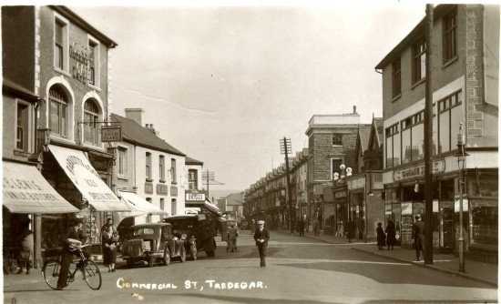 Shops in Tredegar Town
