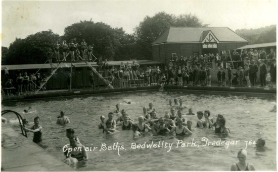 Open Air Swiming Pool Tredegar