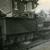 Train at Hollybush