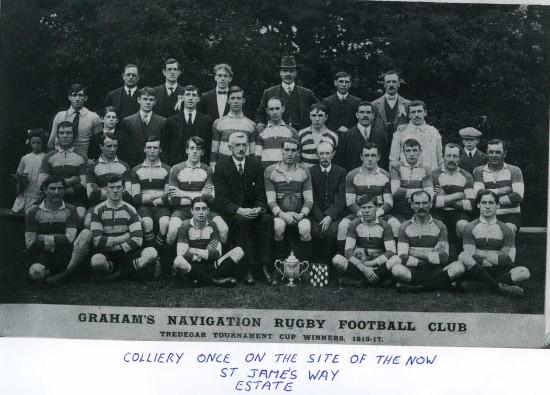 Graham Rugby Team Tredegar