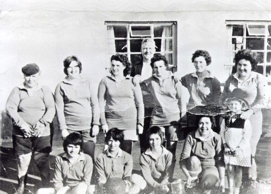 Waundeg Ladies Football Team Tredegar