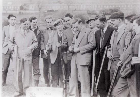 Troedrhiwgwair Clay Shooting Club Tredegar