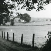 Dukes Meadow before the houses were builtRobins Farm with Nine Arches in the back ground