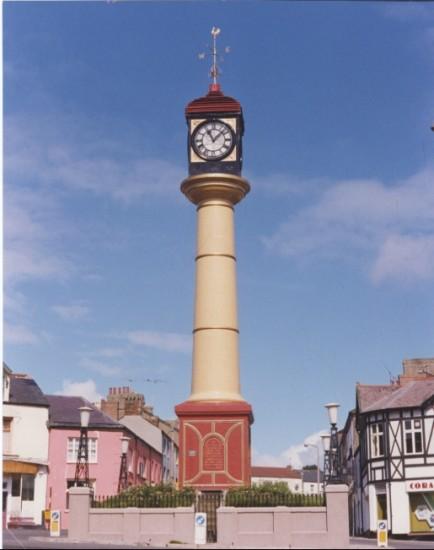Clock Tower Tredegar
