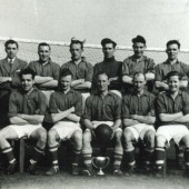 Red and White Football Team