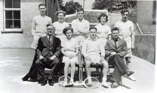 Tennis Team tredegar Grammer School