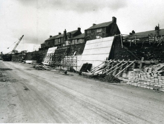 Construction of Heads of the Valley Road at Tavanerbach Tredegar
