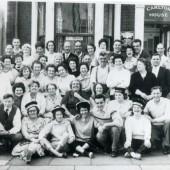 Group of Sirhowy people in Blackpool