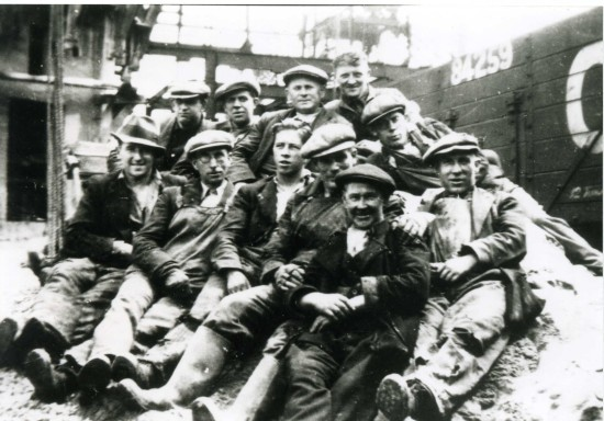 Surface Workers Pochin Colliery