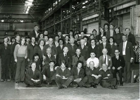 Fabrication Shop R T Baldwins Ebbw Vale