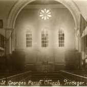 St Georges Church Tredegar