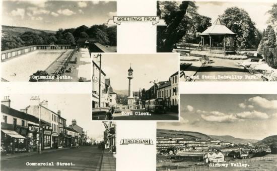 Postcard of Tredegar
