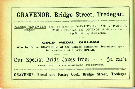 Tredegar Church Bazaar Page 34