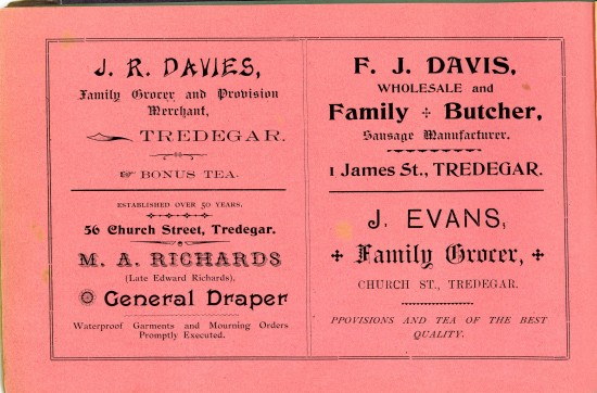 Tredegar Church Bazaar Page 48