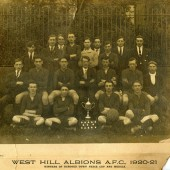 West Hill Albions A.F.C. 1920 ,21