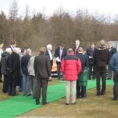 Opening ceremony Golf Course Bryn Bach Park Tredegar