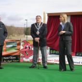 Opening Golf Course Bryn Bach Park Tredegar