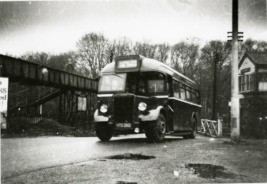 Bus Railway Crossing Tredegar