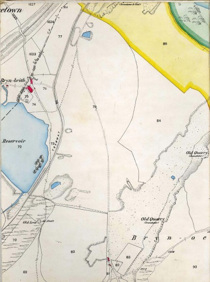 Tredegar Iron & Coal Company Map Page B 2