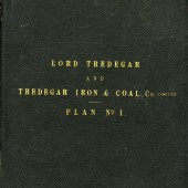 Tredegar Iron & Coal Company Map Cover plan One