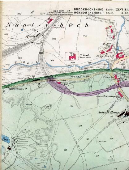 Tredegar Iron & Coal Company Map Page A 4