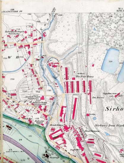 Tredegar Iron & coal Company Map page A 6