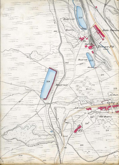 Tredegar Iron & Coal Company Map Page B 1