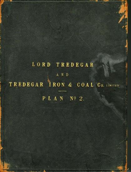 Tredegar Iron & Coal Company Map Cover 2