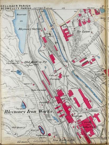 Tredegar Iron & Coal Company Map Page A 1