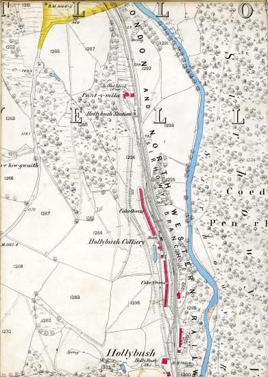 Tredegar  Iron & Coal Company Map Page E 10