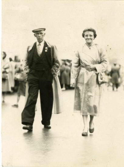 Mr & Mrs Hardwick in Weston Supermare