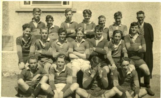 Tredegar Grammar School Rugby Team
