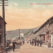 High Street, Llanhilleth circa 1906