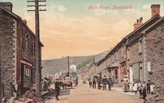 High Street, Llanhilleth circa 1906