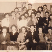 Zion Youth Club: Christmas Social 1956