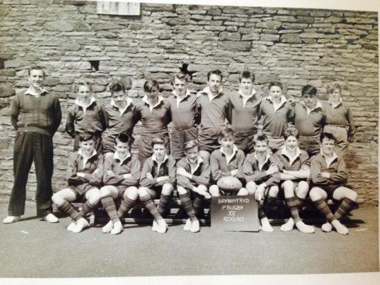 Brynhyfryd School 1st 15 Rugby Team