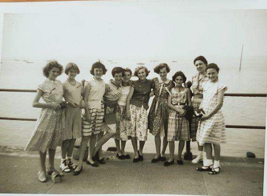 Campaigners Enjoy Summer Camp circa 1957